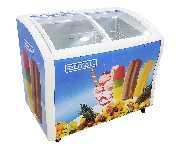 Congelador 12' Horizontal Vidrio Royal